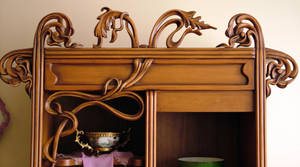 carvings - detail