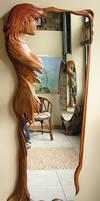 Design Mirror - wood