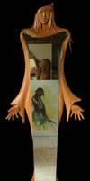 ARTEMIS - design mirror-relief by ayhantomak