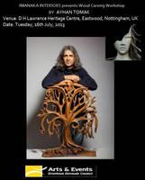wood carving workshop - Ayhan Tomak by ayhantomak