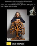 wood carving workshop - Ayhan Tomak