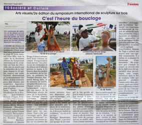 Press - Gabon I'union by ayhantomak