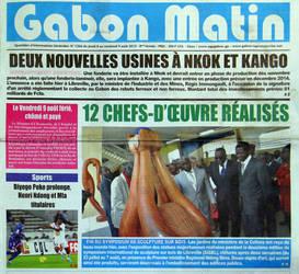 Press - Gabon Matin by ayhantomak