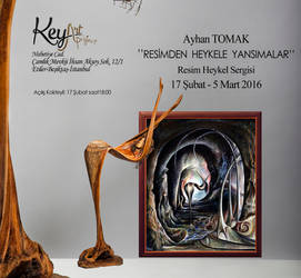 Ayhan Tomak, Exhibition, painting and sculpture