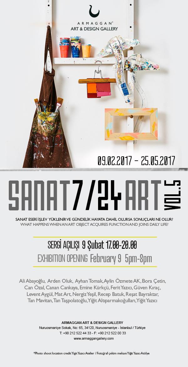 Sanat 7/24 Art Vol.5