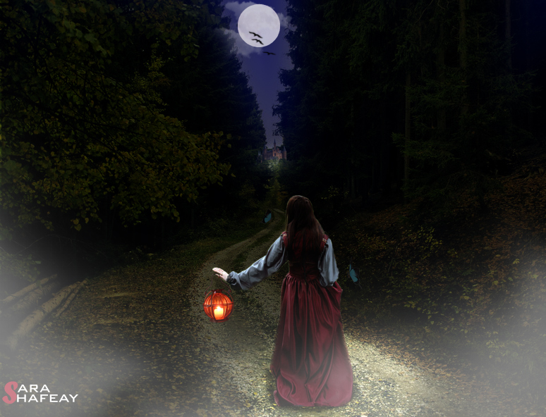 سجل حضورك بصورة من تصميمك - صفحة 3 Wandering_princess____by_sarashafeay-d3hffb9