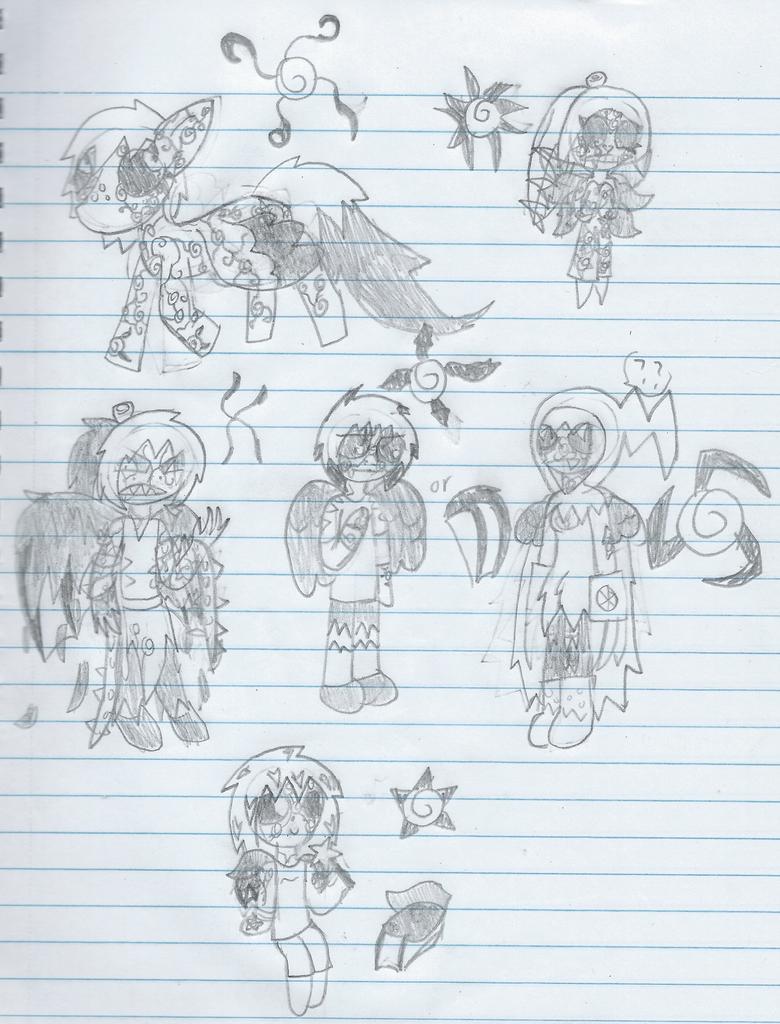 Persona Plague Effort doodle by xtoxicxrosex