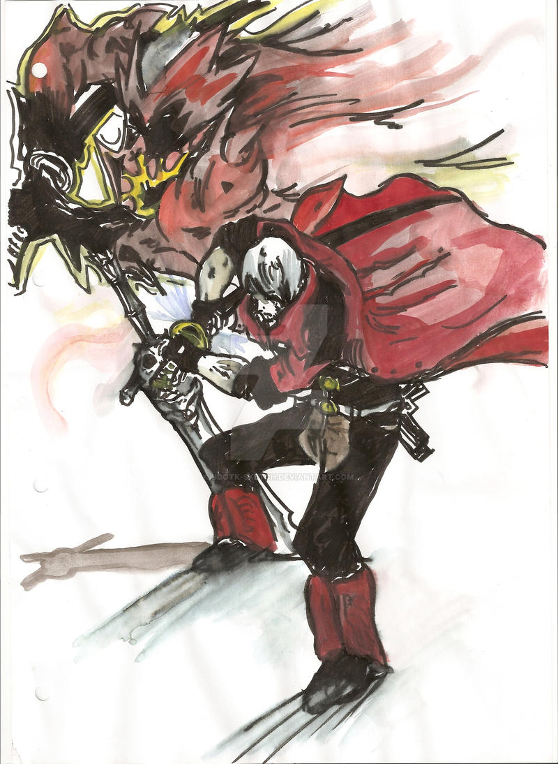 Dante - Unleash Yamato by JdotK-Sketch