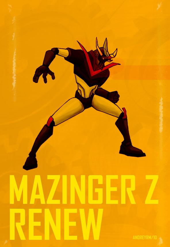 Mazinger renew by andreyrmon