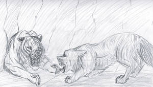 Father Wolf vs. Shere Khan