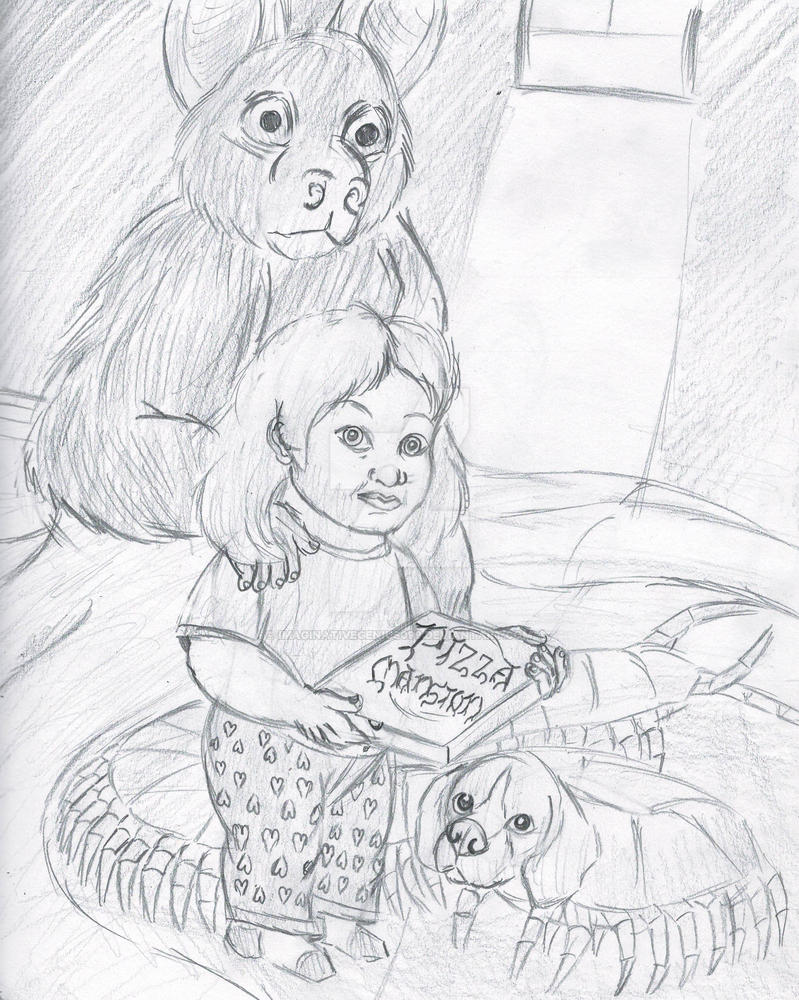 The Nightmarish Friends of Annabelle Bard by imaginativegenius099