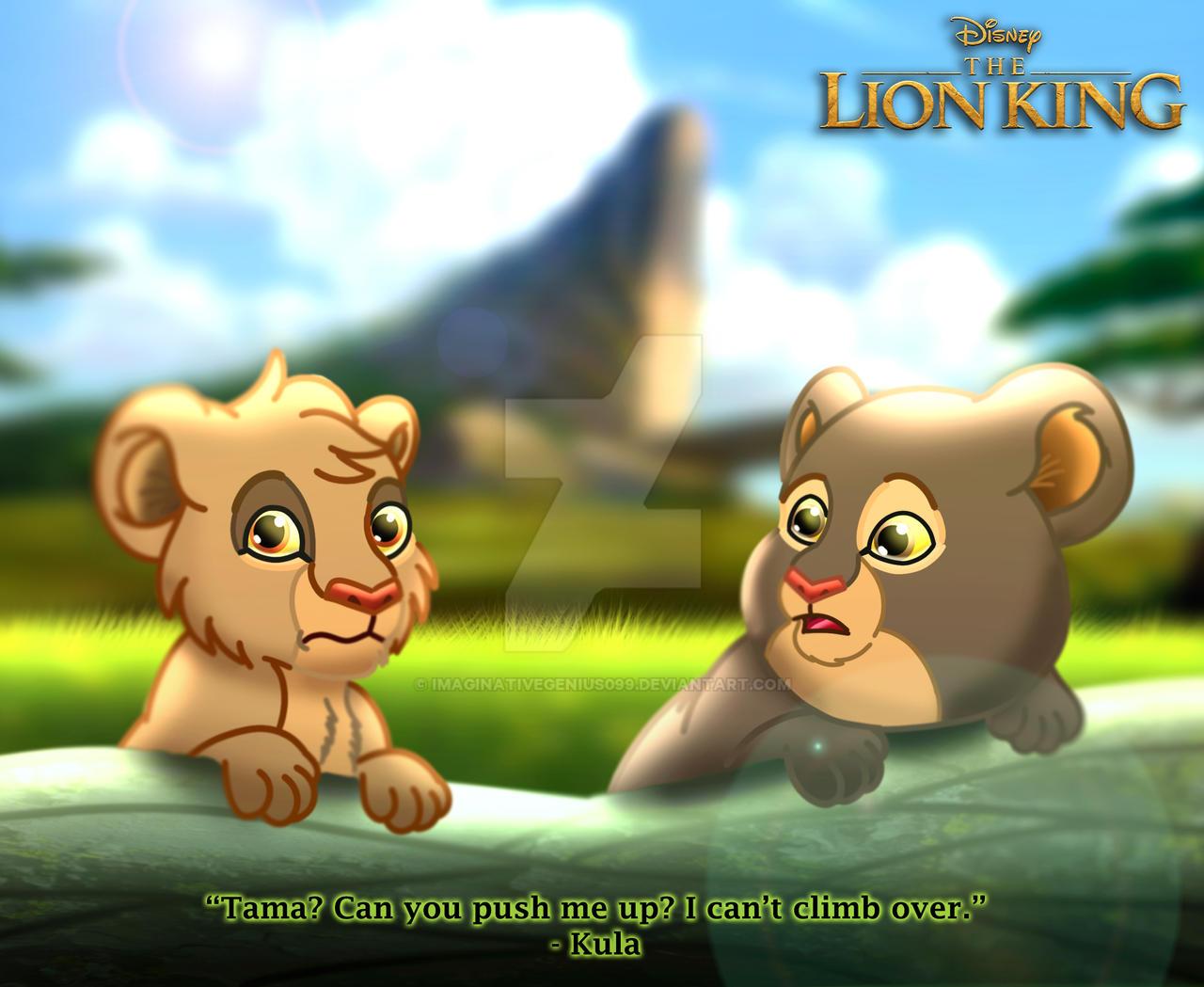 The Lion King Tama And Kula By Imaginativegenius099 On Deviantart