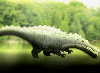 Suchomimus by imaginativegenius099