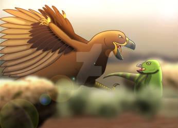 Utahraptor by imaginativegenius099