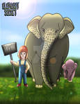 Elephant Secret by imaginativegenius099
