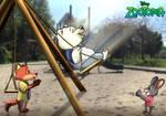 For Crendens-Vita: Fun at the Playground by imaginativegenius099