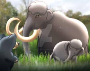 Woolly Mammoth by imaginativegenius099