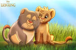 The Lion King - The Tomboy and the Cuddlebug by imaginativegenius099