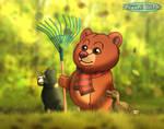 Little Bear - Autumn Days by imaginativegenius099