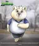 Zootopia - Morris's Jog by imaginativegenius099