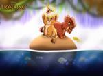For Blumalou: The Lion King - Kiara's Paradise by imaginativegenius099