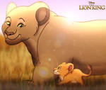 For HydraCarina: The Lion King - Me and Grandma by imaginativegenius099