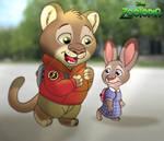 Zootopia - Schoolmates by imaginativegenius099