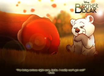 Brother Bear - Koda's Stuck by imaginativegenius099