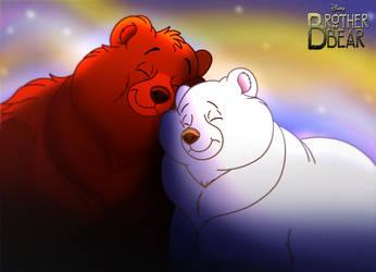 Brother Bear - Koda and Amka by imaginativegenius099