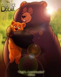 Brother Bear - Kenai and Tug by imaginativegenius099