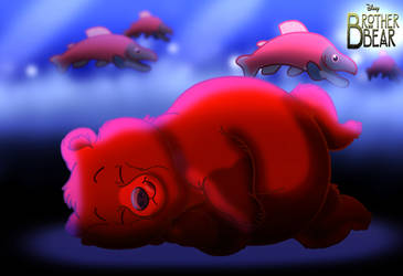 Brother Bear - Salmon Dreams by imaginativegenius099