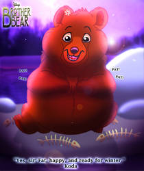 Brother Bear - Ready for Winter by imaginativegenius099