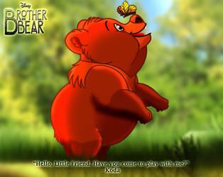 Brother Bear - Koda's Butterfly by imaginativegenius099