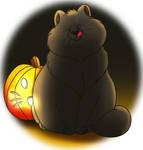 ChrissaBug: Halloween Cat by imaginativegenius099