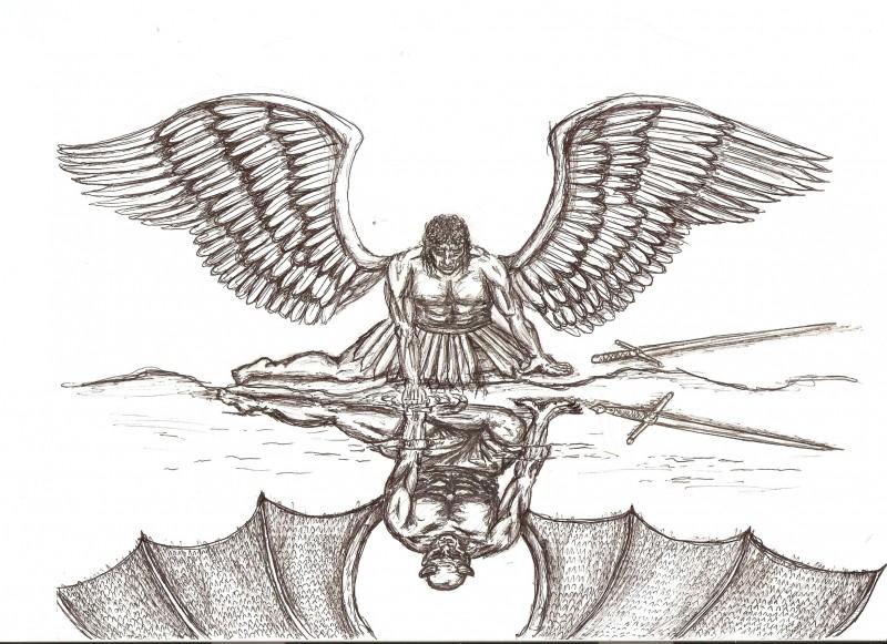 Fallen angel rough version by em613 on deviantart fallen angel rough version by em613 thecheapjerseys Choice Image