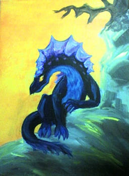 Technicolor dragon by gogglesonmyhead