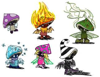 KoL Gravy Fairies by gogglesonmyhead
