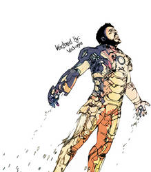 Colored Tony Stark In Iron Man 3-2048x1536 by Wad0nnaART