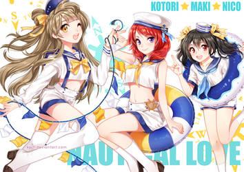 Love Live Nautical love by KPJ11