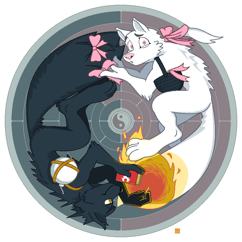 The Yin and The Yang by megawolf77