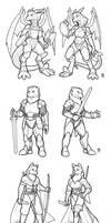Arena Combatant Designs