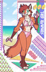 SUMMER FOX '88 by megawolf77