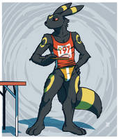 UMBREON : Ringed ping-pong pro
