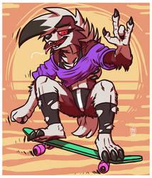 LYCANROC : Rockin' 'n' Shreddin'