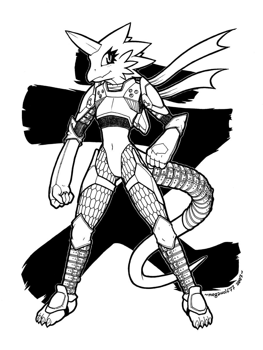 Excalibur Dragon : Exorbitant by megawolf77