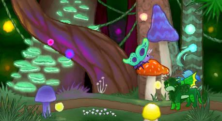 Mythical Mushroom Forest