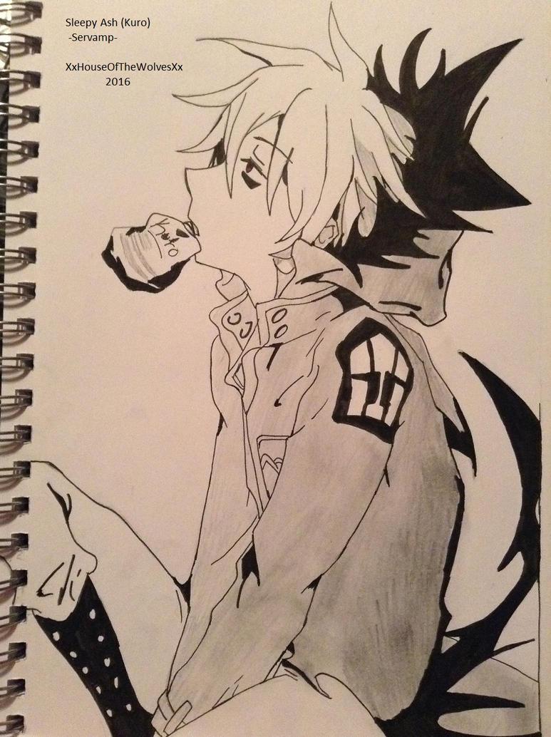 Sleepy Ash (Kuro) -Servamp- by xXDemonic-ChaosXx