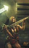Barbarian for rent by RobotDelEspacio