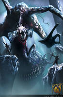 Death Colossus -RIFT- by RobotDelEspacio