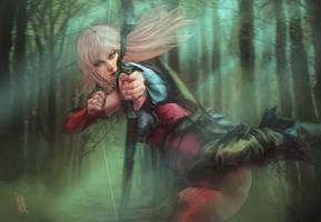 Rashka the Slayer by RobotDelEspacio